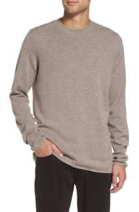 Men's Crewneck Cashmere Sweater