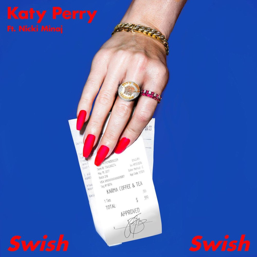 katy perry swish swish