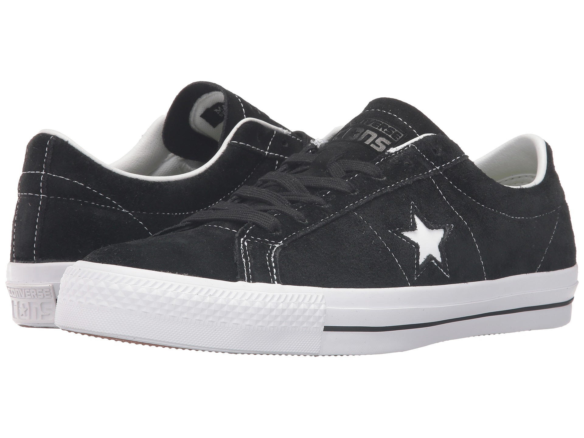 Converse all star suede sneakers