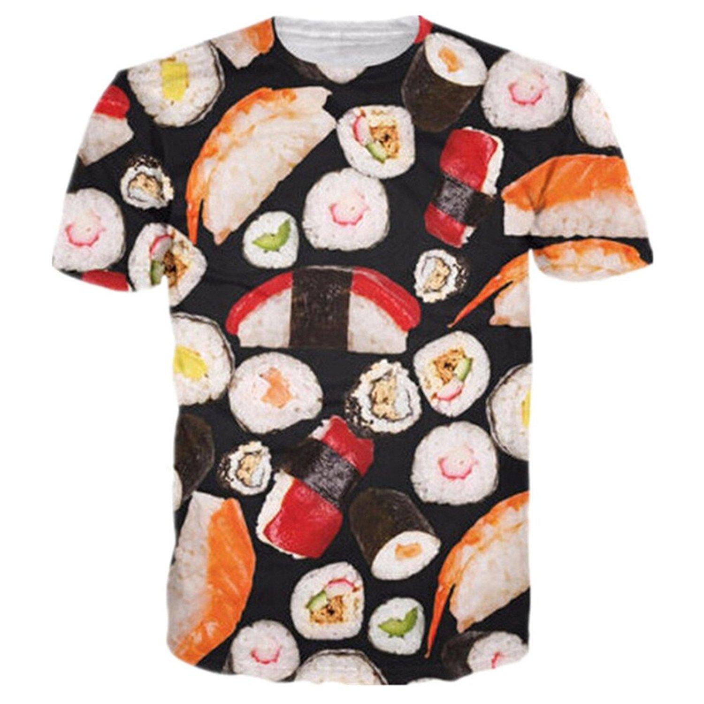 3D Printed Sushi T-Shirt