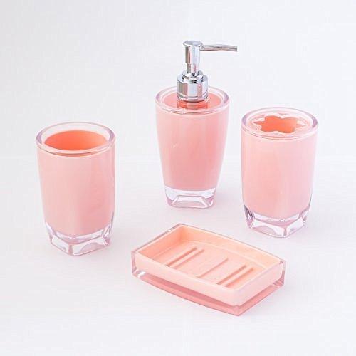 Pink Bathroom Set Amazon