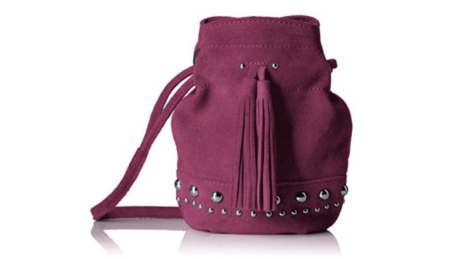 The Fix kirby mini Suede Studded Bag
