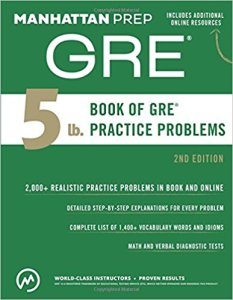 GRE prep practice problems study guide