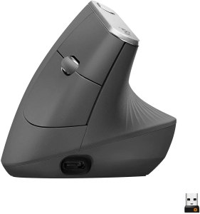 logitech mx vertical wireless mouse, best ergonomic mouse