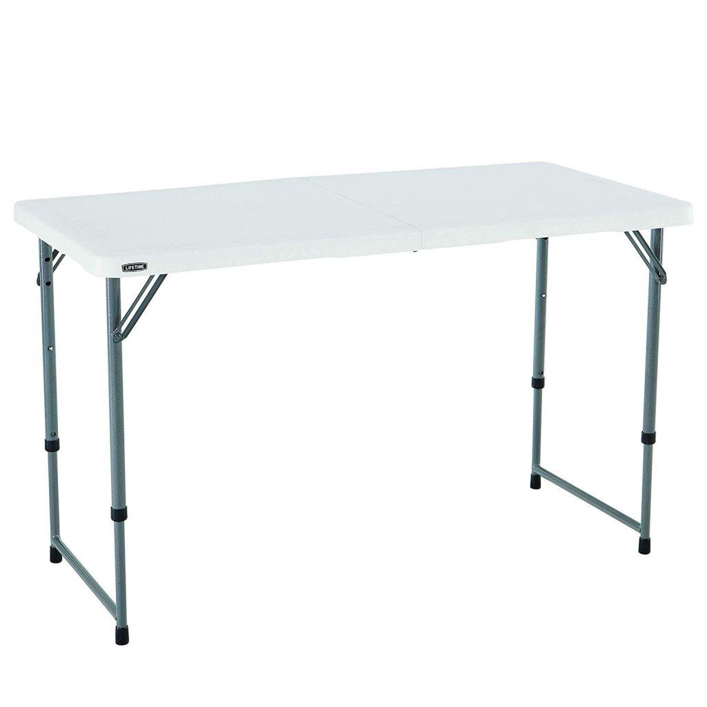 Lifetime Adjustable Utility Table
