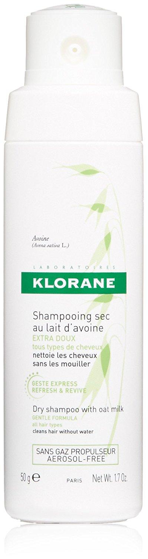 Klorane dry shampoo