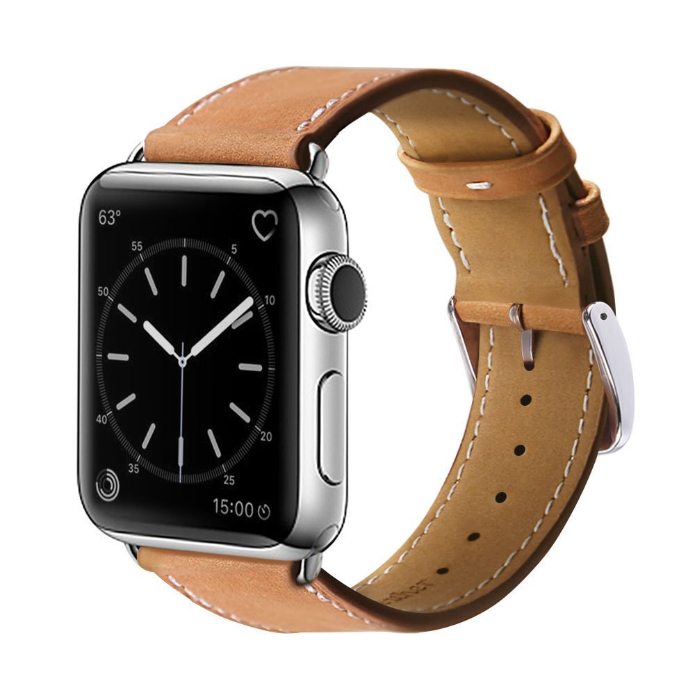 Apple watch leather replacement band