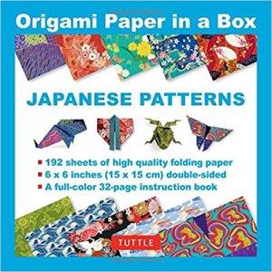 Book Origami Paper in a Box