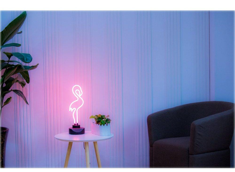 Pink LED Sign Light Amazon
