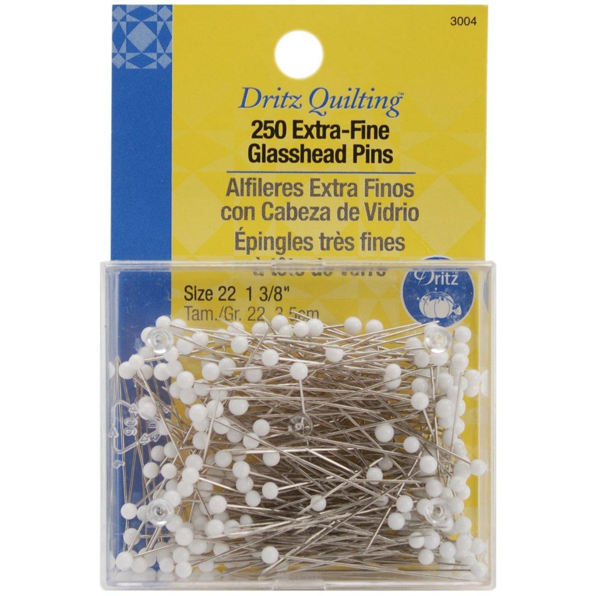 Glass head pins amazon