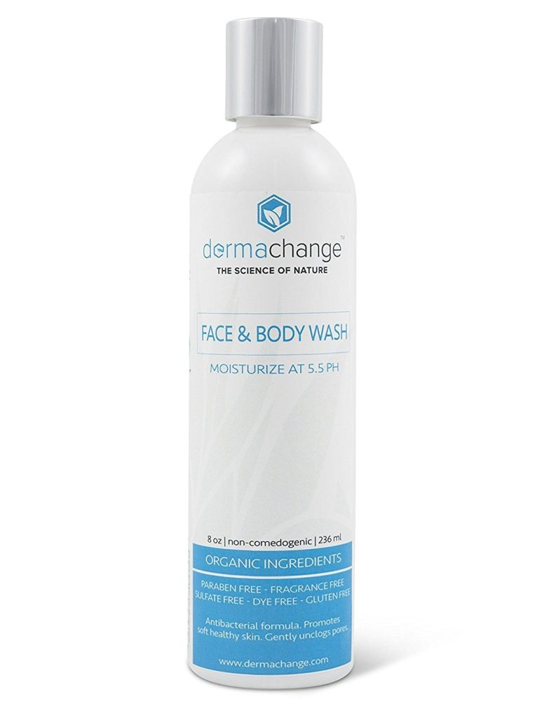 DermaChange Natural Daily Face Wash