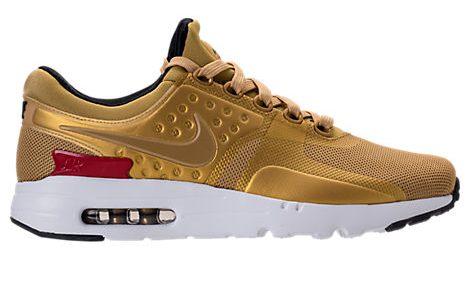 Men's Gold Sneakers Nike