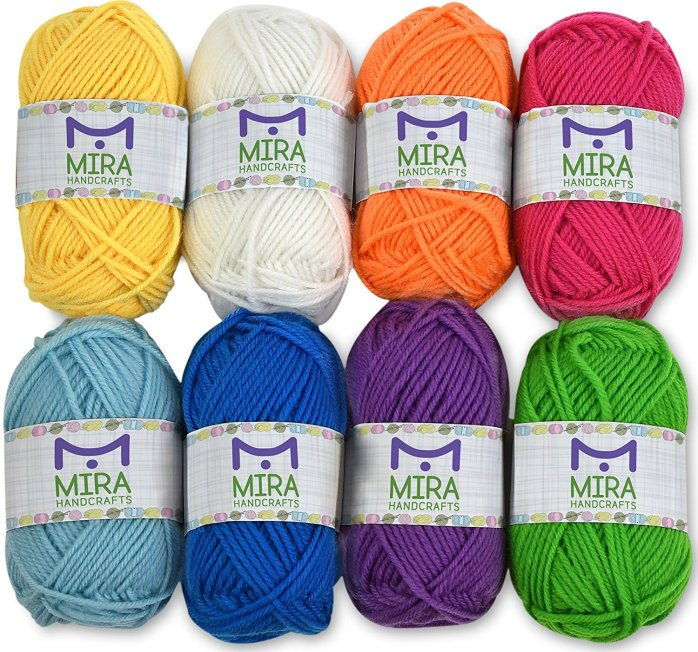 how to knit best yarn for beginners multi-pack mira