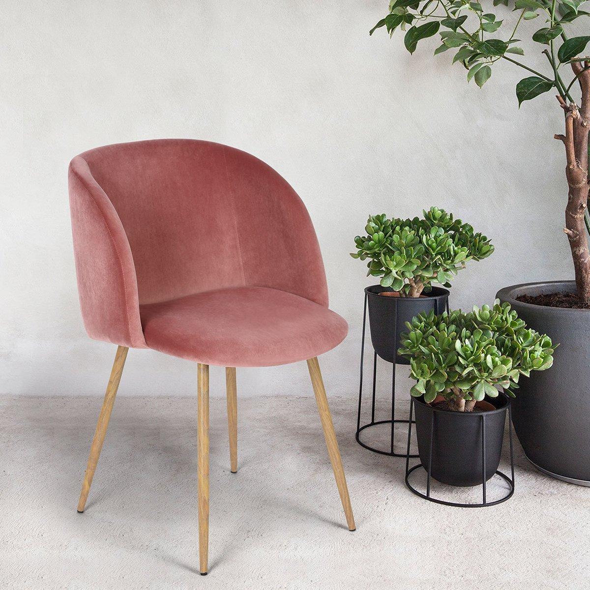 Pink Velvet Chair Amazon