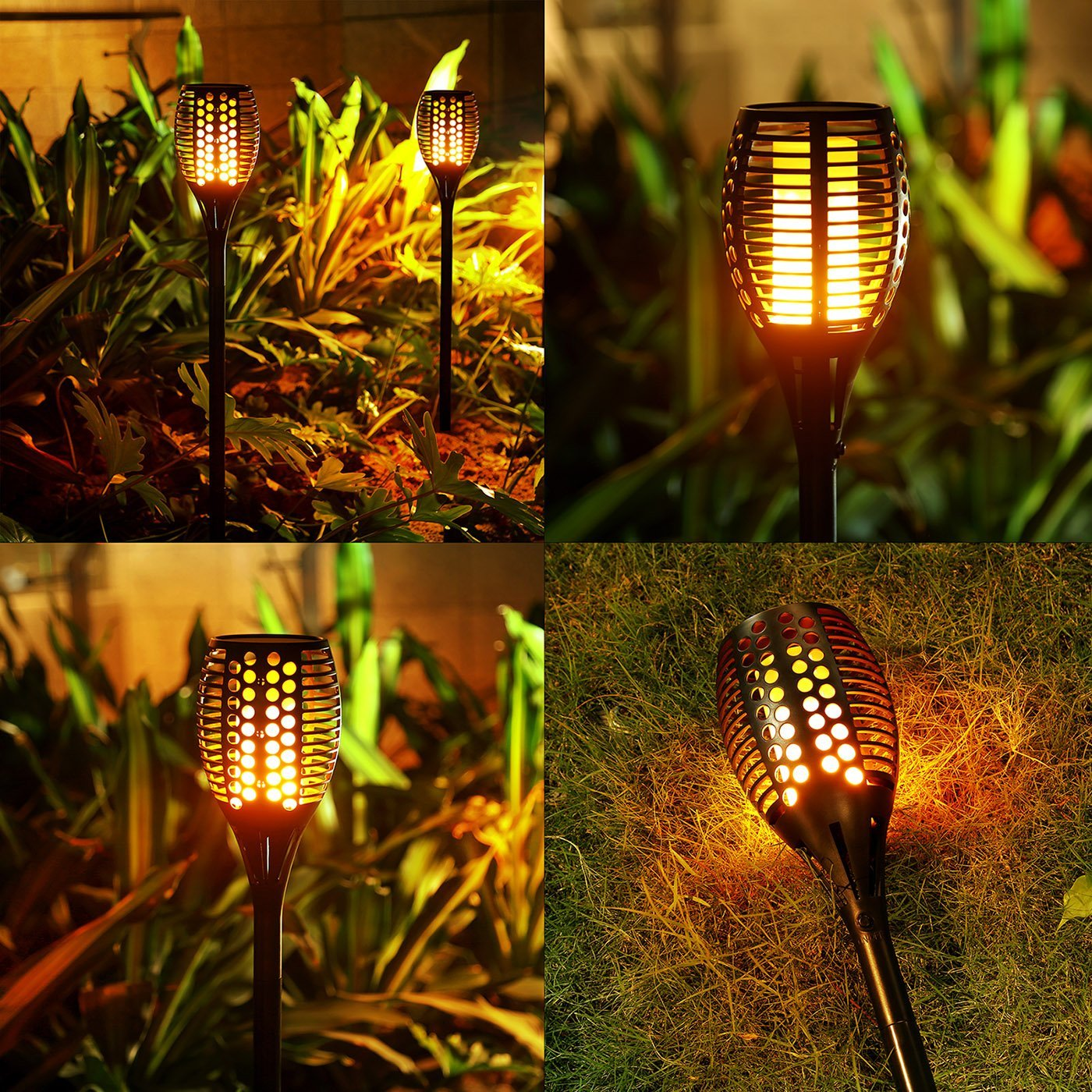 Solar Torch Lights