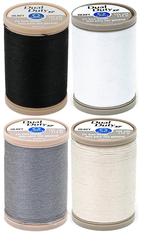 Button hole twist sewing thread