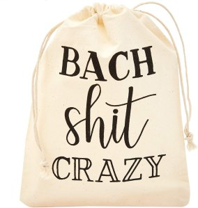 Sparkle and Bash Drawstring Bags for Bachelorette Party
