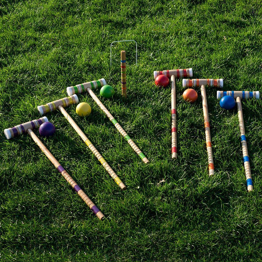 Trademark Games Croquet Set