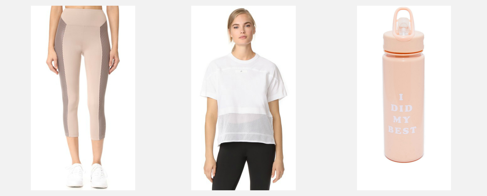 Best activewear for barre
