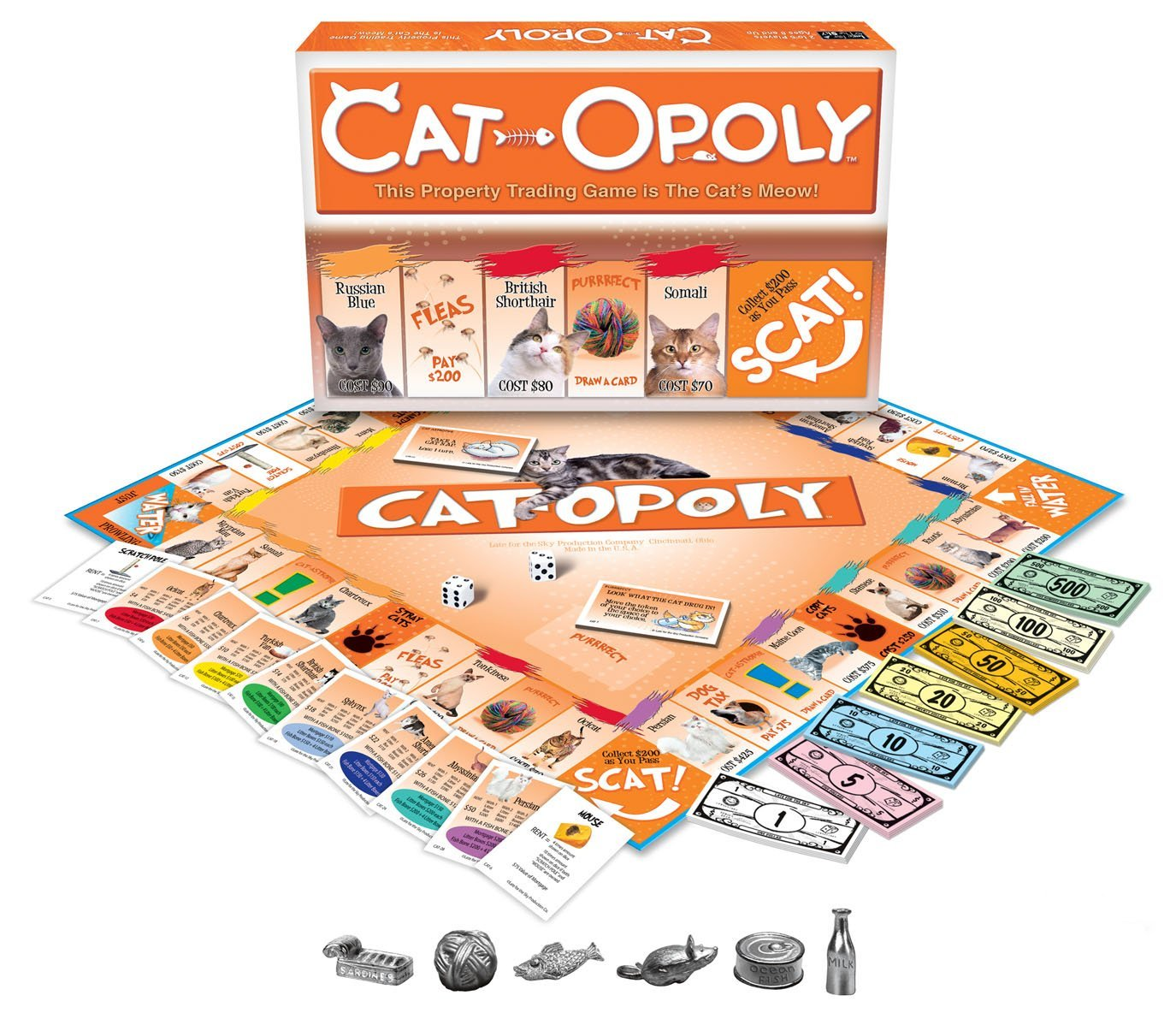 cat day international best gifts for cat lovers monopoly board game