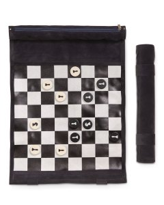 Bey-Berk Frankie Roll-Up Chess Set, unique chess sets