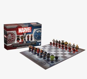 Marvel Collector's Chess Set, unique chess sets