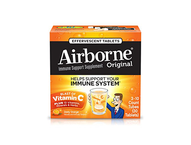 Airborne Cold Supplements