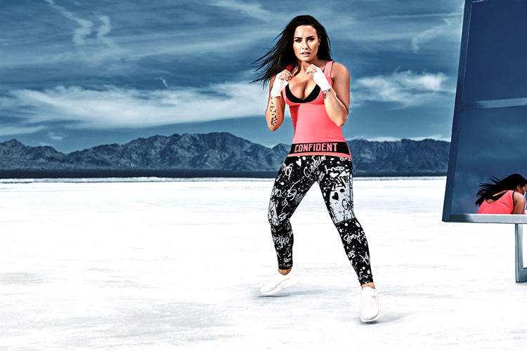 Demi Lovato x Fabletics