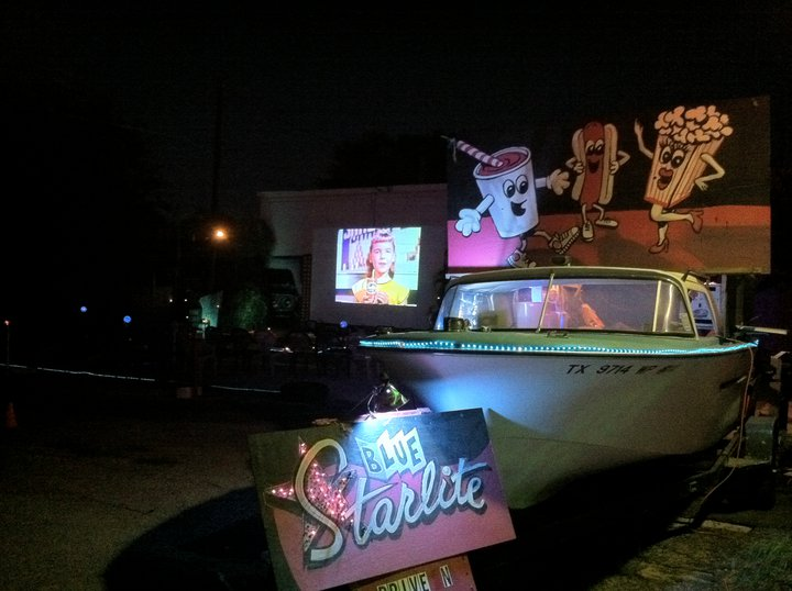drive-in cars outdoor movies
