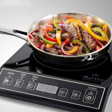 get one of these hot plates and enjoy delicious dorm room cuisine all year long