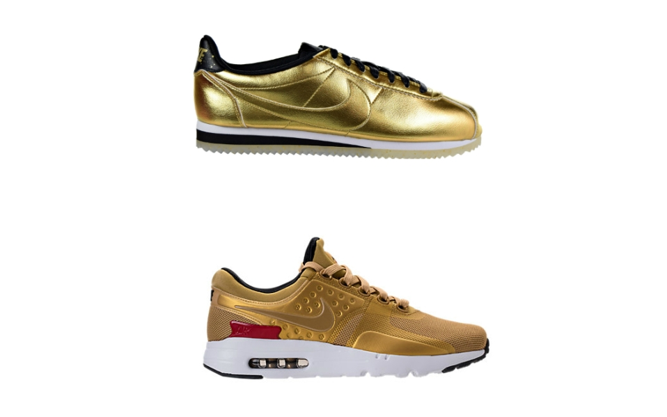 best gold sneakers