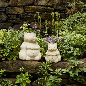 kitty zen sculptures, gifts for cat lovers