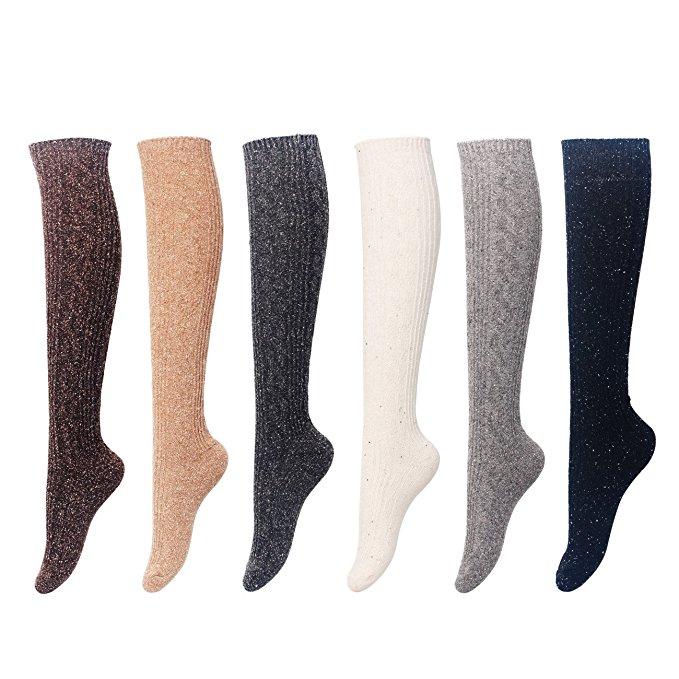 best socks warm winter women's boot angora wool