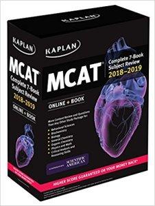 best MCAT study guide test prep practice kaplan complete bundle