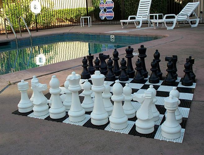 MegaChess Giant Premium Chess Set, unique chest sets