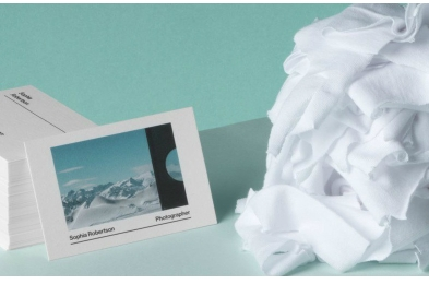 moo cotton business cards