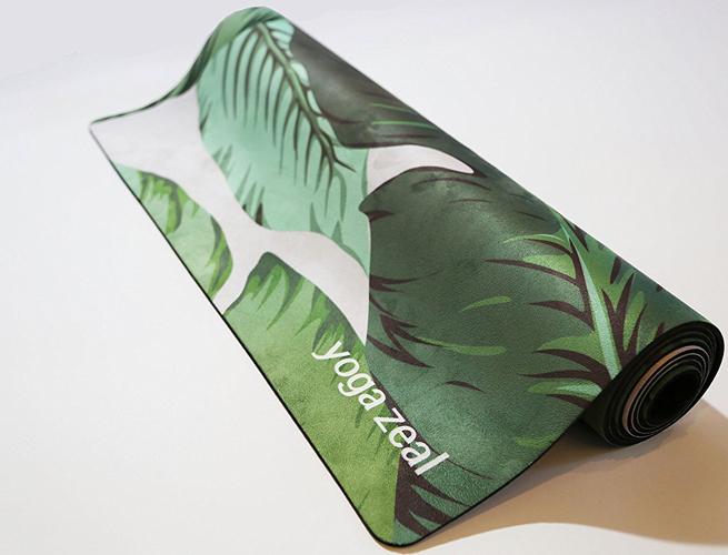 Yoga Zeal Printed Yoga Mat