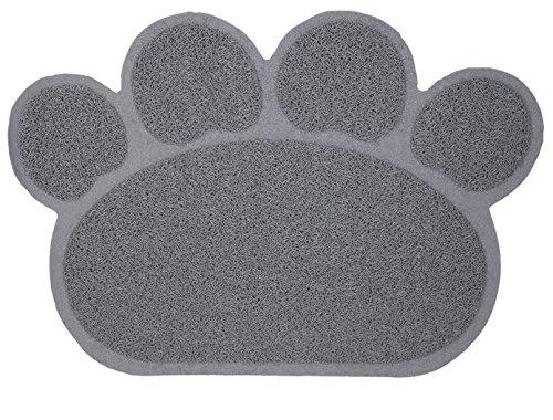 litter mat best pads for cat box paw print rug monster pets
