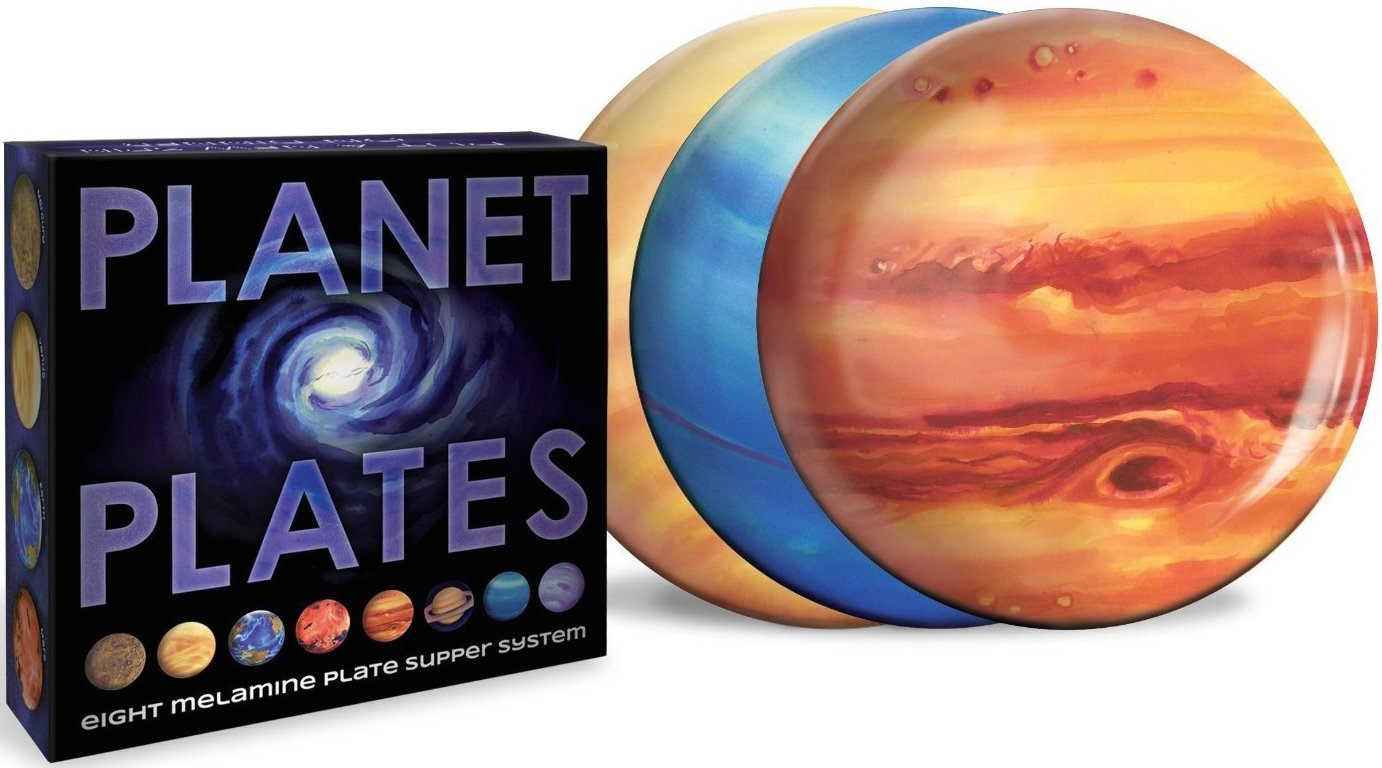 planet plates set space party best plates stars lovers