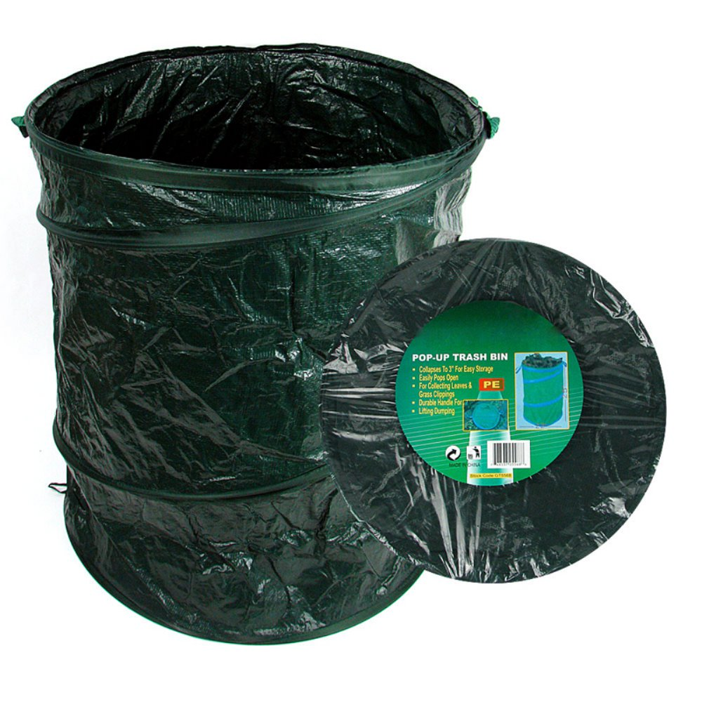 Trademark Tools pop-up trash bin