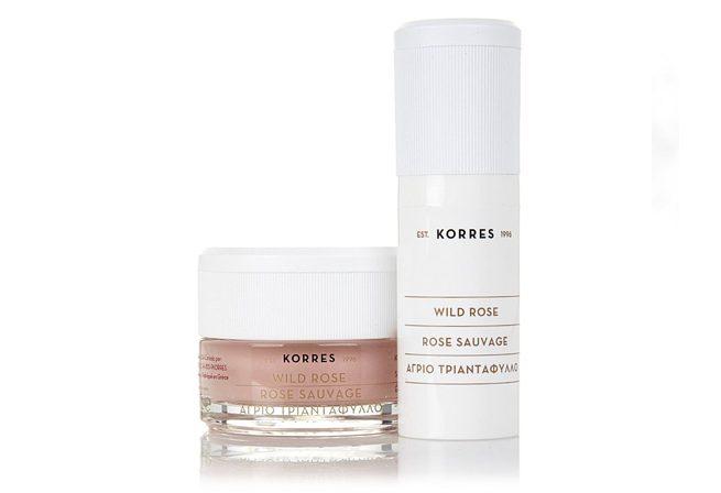 Korres 2-part rejuvenating brightening skin peel