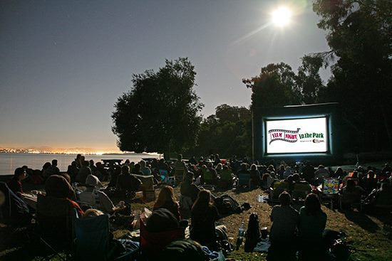 san francisco film night in the park outdoor movies