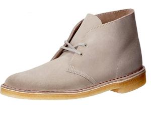 Men's grey Chukka Boot Clarks
