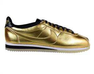 Women's Gold Sneaker Nike Cortez