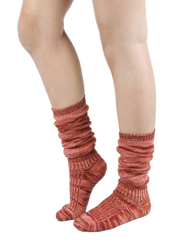 best socks warm winter stylish slouch