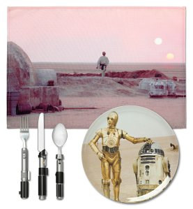 star wars dinnerware set