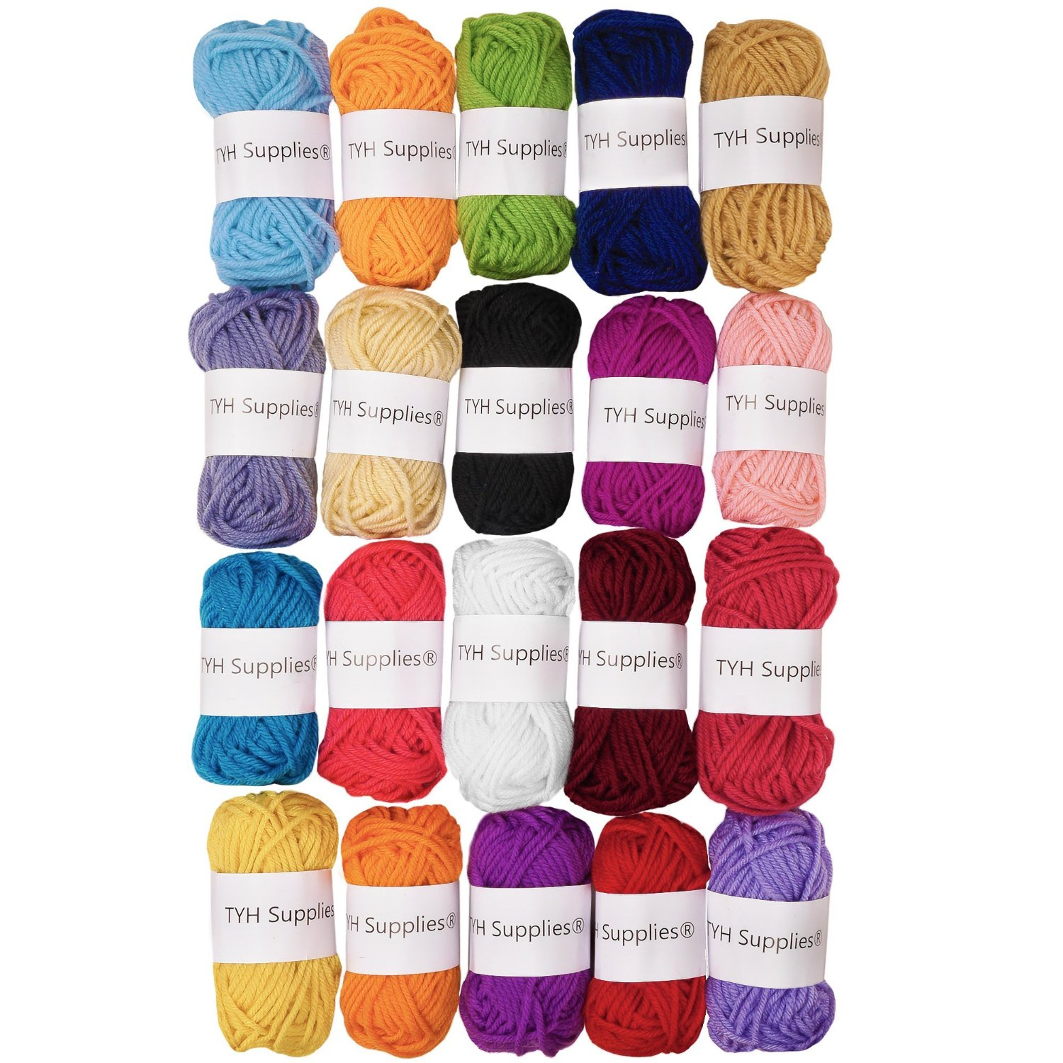 how to knit best yarn for beginners tyh supplies multi-pack kit