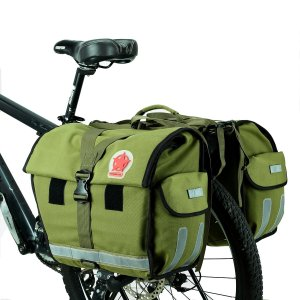 Water-Resistant Rear Seat Double Bag