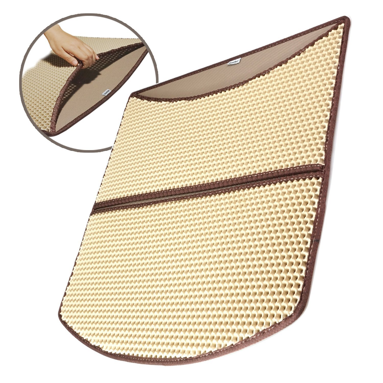 litter mat best pads for cat box woopet double layer