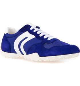 geox blue sneakers
